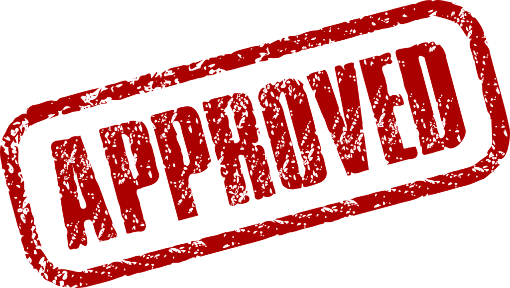 approval stamp