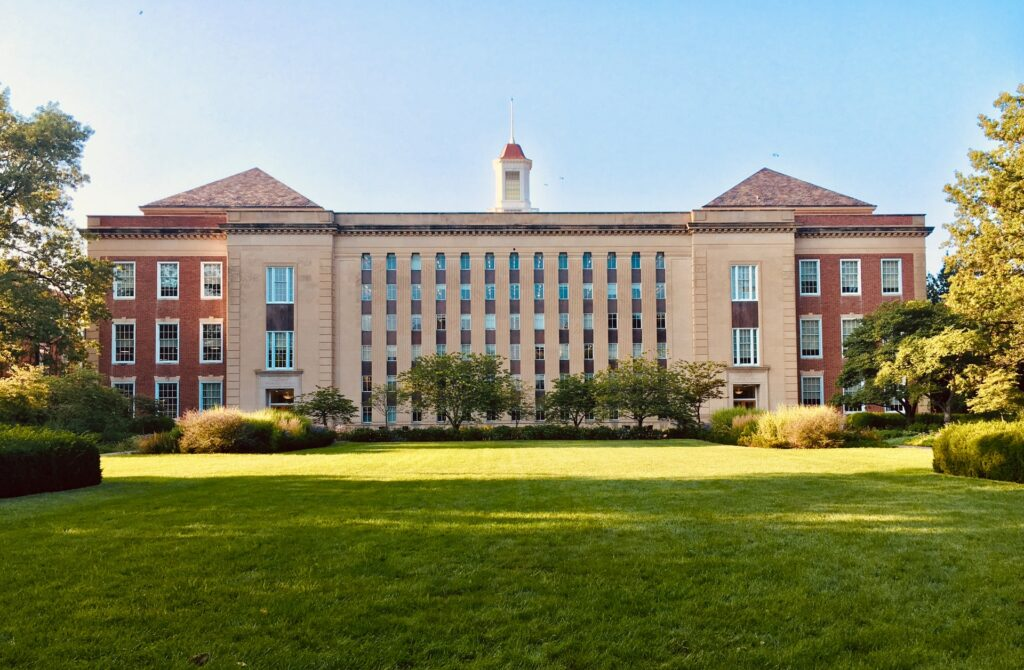 brown concrete building college