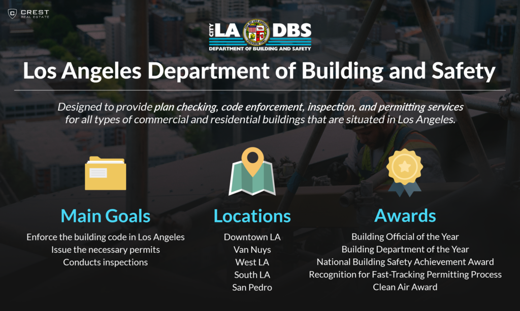 Los Angeles Department of Building & Safety (LADBS) Infographic