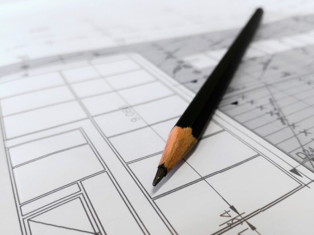 architectural drawing houses