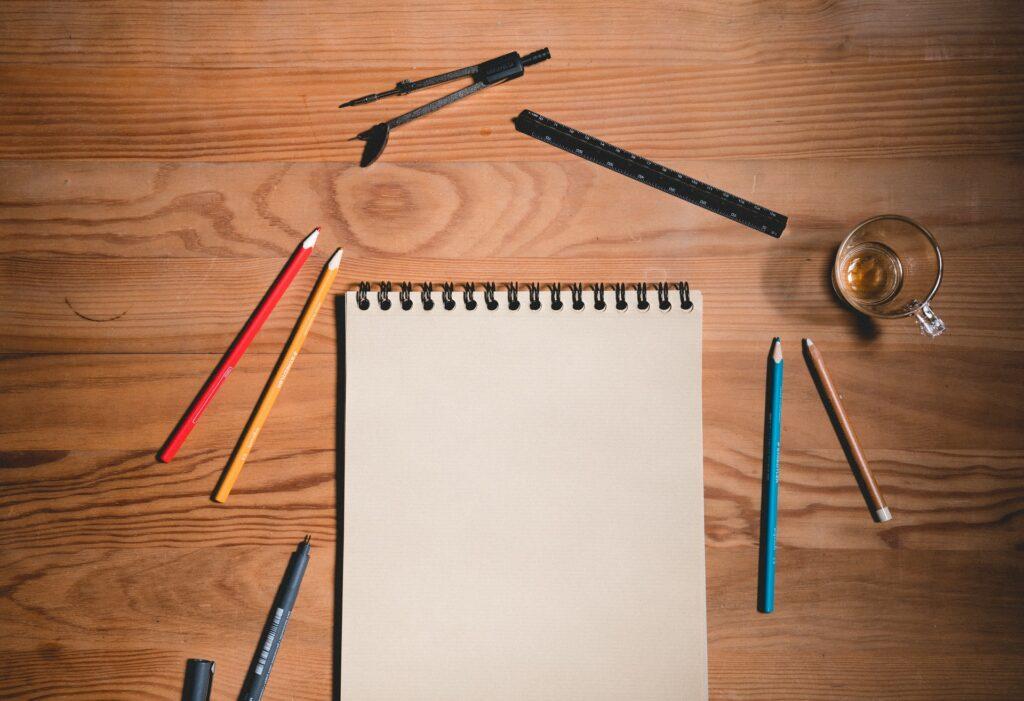 drawing pencil paper utensils