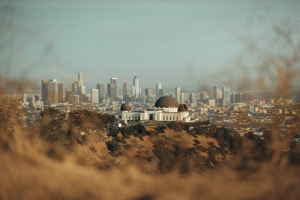 griffith observatory los angeles city land