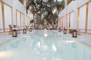 Elegant Hotel Renovation and New Restaurant