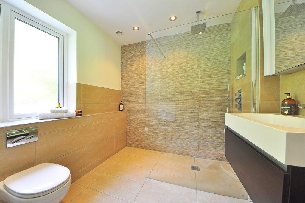 bathroom of home